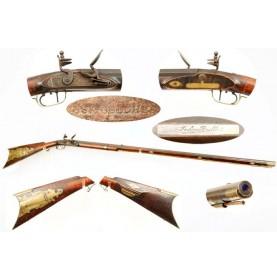 Beautiful Tennessee Long Rifle by John Bull