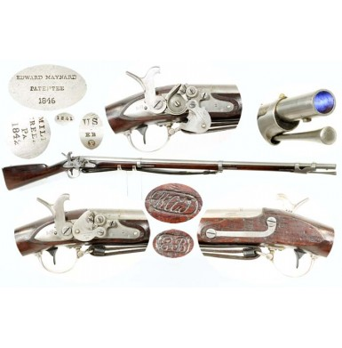 US M1840 Nippes-Maynard Alteration Musket