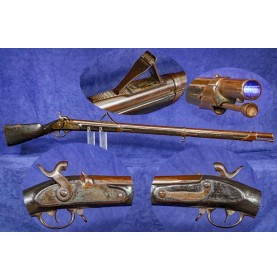 Bavarian M1842/51 Rifled & Sighted Musket