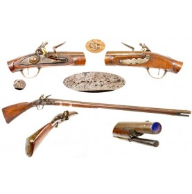 American Restocked French Fusil de Chasse