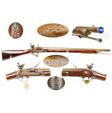 British Pattern 1796 Heavy Dragoon Carbine with Nock's Screwless Lock
